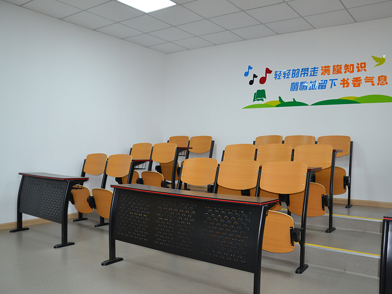 Features of school ladder classroom seats